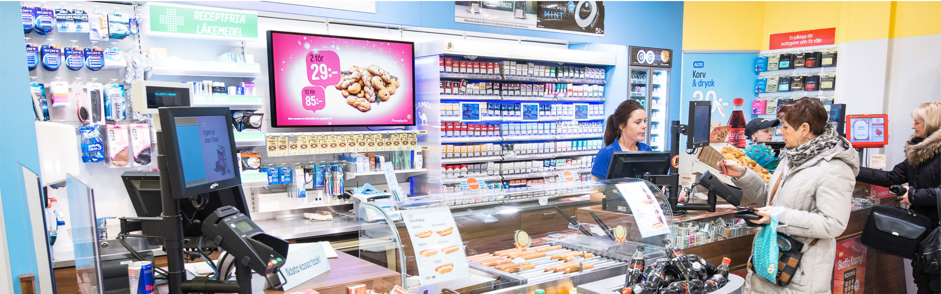 Digital Signage Convenience Stores & Grocery Stores
